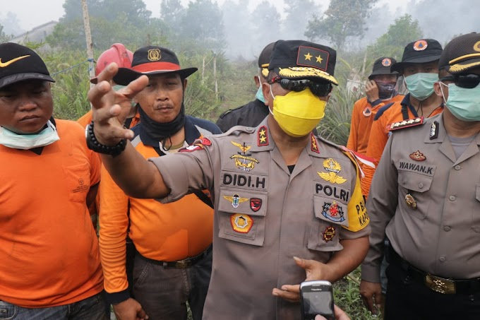 Polda Kalbar Targetkan Awal Desember Limpahkan Berkas Karhutlah 4 Korporasi ke JPU