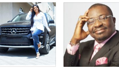 Beef alert! Comedian Alibaba also throws shade at Laura Ikeji after she bought an SUV