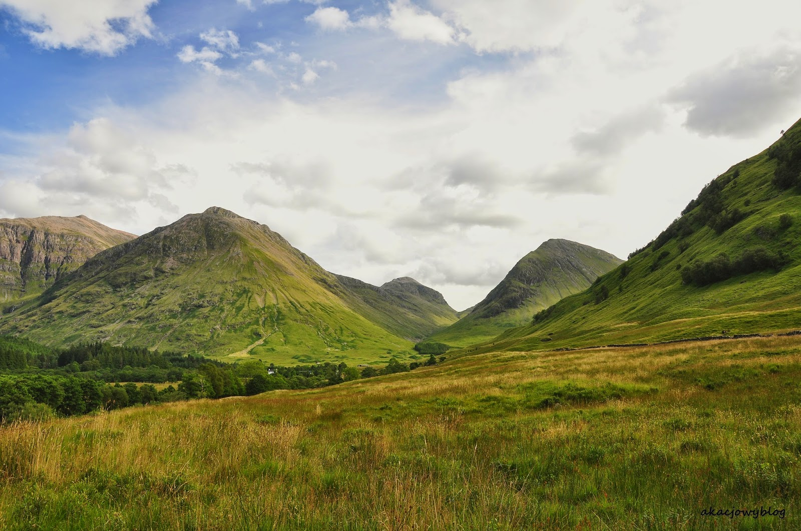 Urok szkockich dolin - Dolina Łez, Glen Coe.