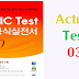 Listening TOEIC TEST LC 1000 - Actual Test 03