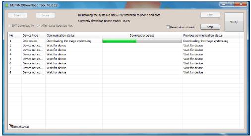 Flash Oppo A71 CPH1801 MSMDownloadTool
