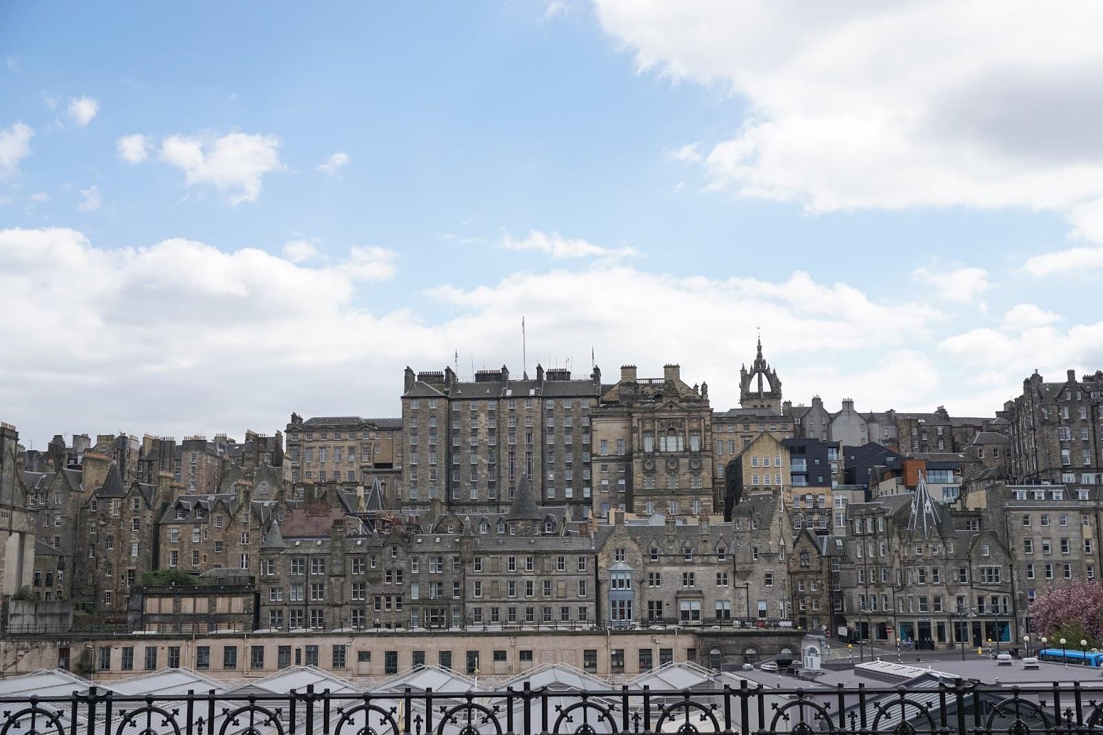 Edinburgh rooftops