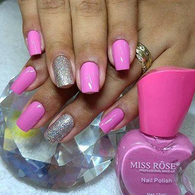 unhas decoradas rosa 3