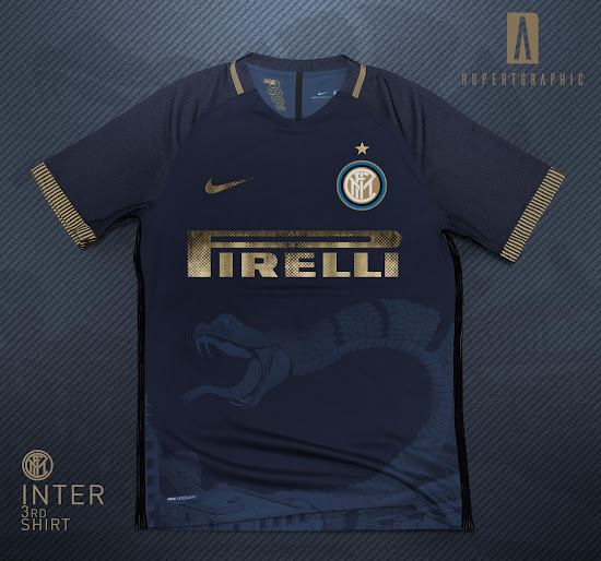 best service a053c 2a8ef Awesome Nike Inter Milan 18-19 Third Kit Concept by ...
