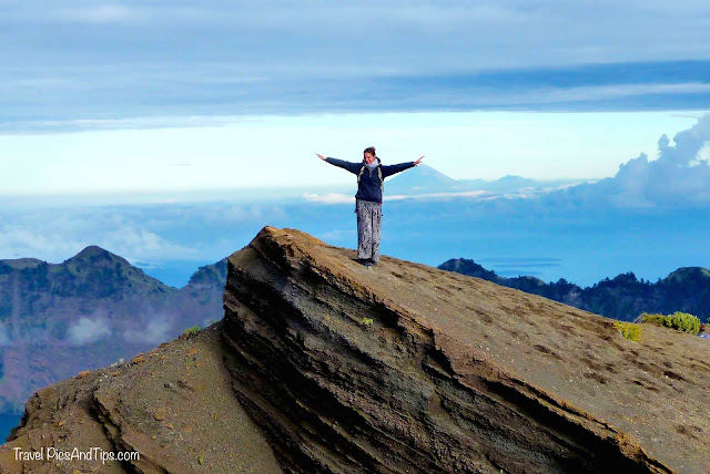 ruler of the world, Trekking mount Rinjani Indonesia