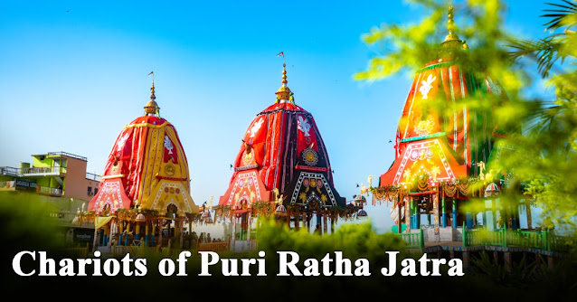 Chariots of Puri Ratha Jatra
