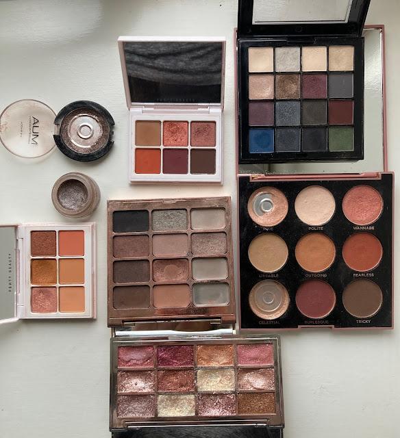 eyeshadow palettes that have hit pan