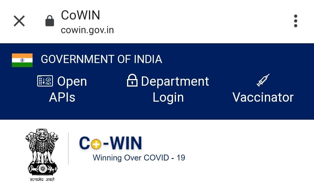 www.cowin.gov.in certificate download login register website