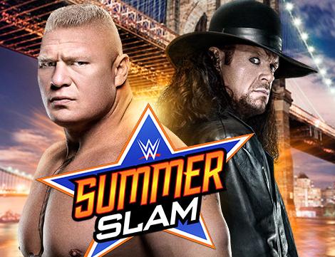 Undertaker vs Brock Lesnar 2015 WWE Summer Slam 2015