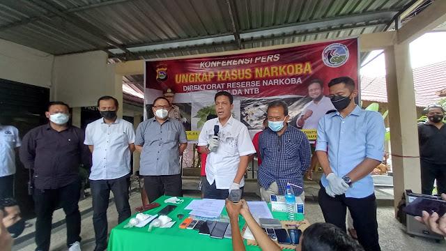 Timsus Ditresnarkoba Polda NTB Berhasil Selamatkan Ribuan Warga NTB