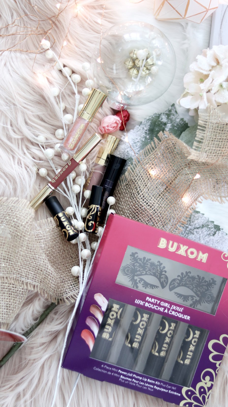 Buxom Cosmetics holiday gift sets 2018 for the beauty lover