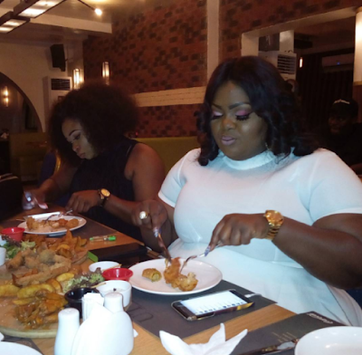 Photos from Actress Eniola Badmus' birthday dinner
