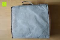 Tasche Rückseite: MELIANDA MA-11010 Microfaser Wildseide Sommersteppbett 135x200 cm kochfest / trocknergeeignet ideal für warme und heiße Sommernächte