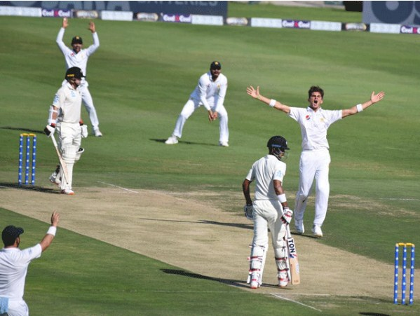 Abu Dhabi Test; On the first day, New Zealand made 229 for 7 wickets