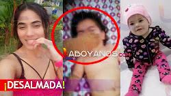 """Madre venezolana golpea a su bebé y le echa la culpa de su mala """"racha económica"""""""