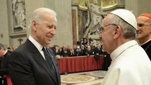 Pope and Biden