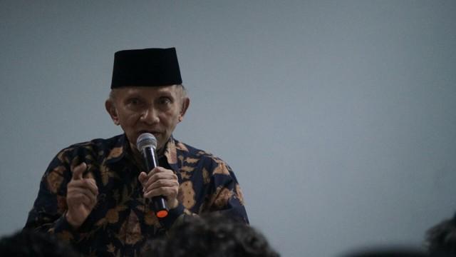 Amien Rais Ingatkan Pemimpin Harus Siap Dikritik Jangan seperti Fir'aun