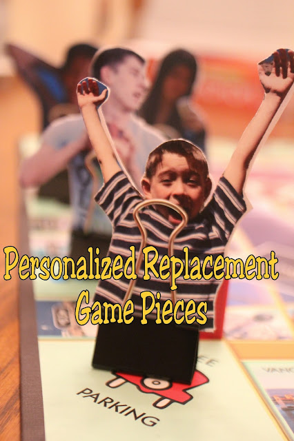 If you lost the pieces to your favorite family game or if you are looking to make it a little more personal for your kids and family, make these DIY picture game pieces and watch your kids be amazed and thrilled as they join the game.