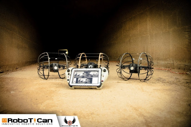 Robotican has successfully delivered its first indoor UAS to the USSOCOM for operational evaluation.