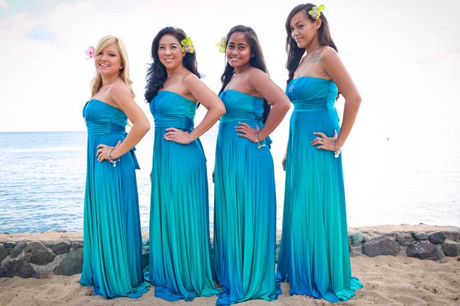 Bridesmaid Dresses Hawaii