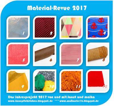Material - Revue 2017