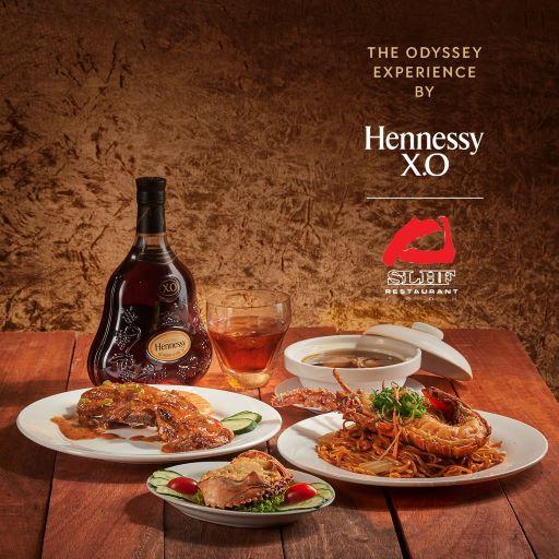 HENNESSY X.O, Odyssey Experience, Odyssey Menu & Meals, Hennessy, Skillet, Rare, Flour, Grand Imperial, Rewine, Sun Lee Hou Fook, STG, Gēn, Food