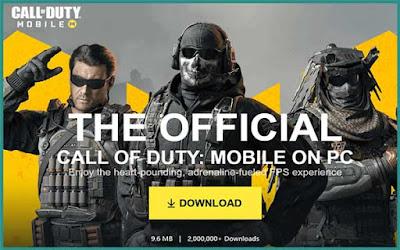 تحميل لعبة call of duty mobile للكمبيوتر