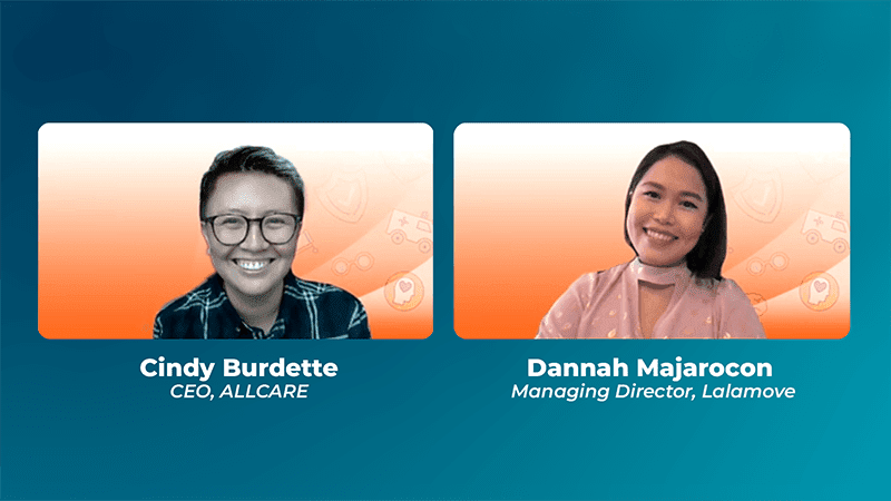 Online conference with CEO of ALLCARE and Managing Director of Lalamove
