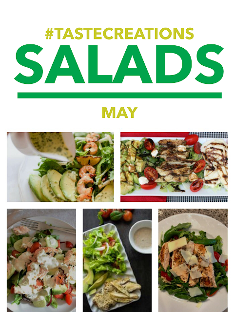 Salad Recipes #tastecreations