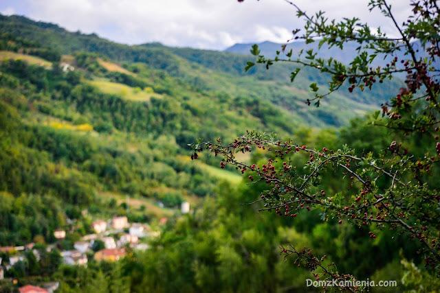 Dolina Lamone - widok na Biforco