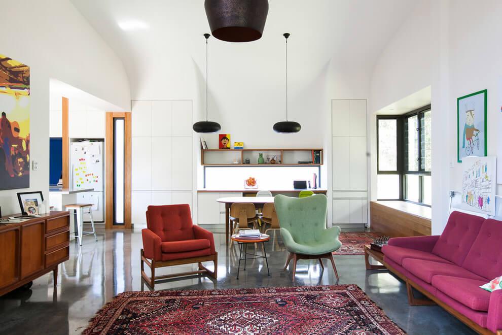 Ideas para decorar el sal n 10 maravillosos salones estilo retro - Salon con estilo ...