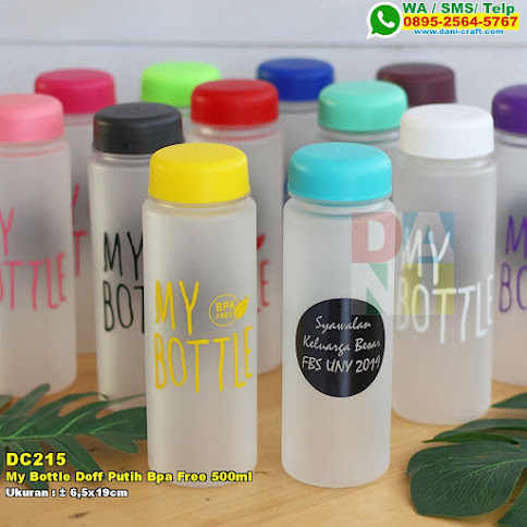 My Bottle Doff Putih Bpa Free 500ml