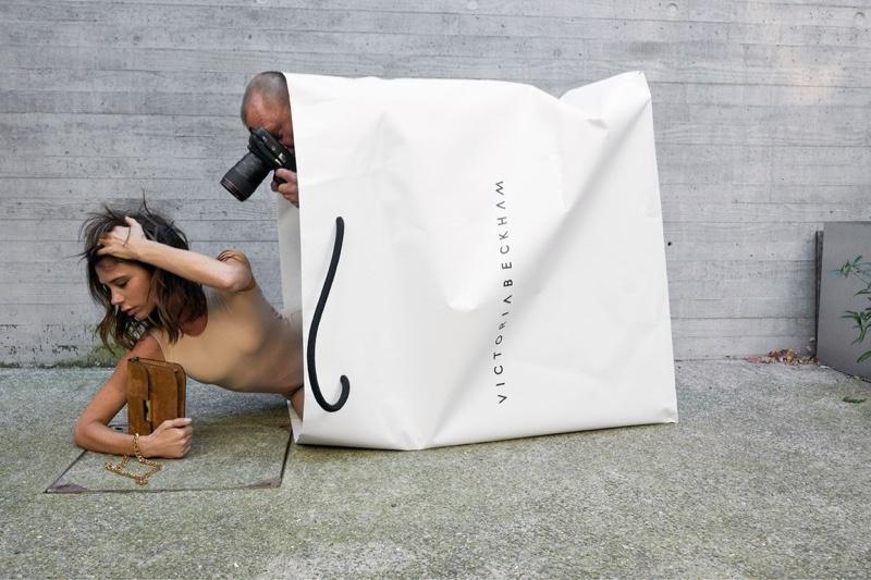 Juergen Teller photographs Victoria Beckham 10th Anniversary campaign