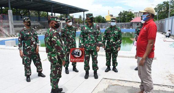 Danlantamal VI Makassar Terima Kunjungan Wadan Kodiklatal