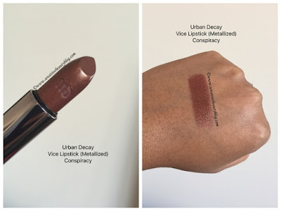Urban Decay Vice Lipstick Conspiracy Swatch