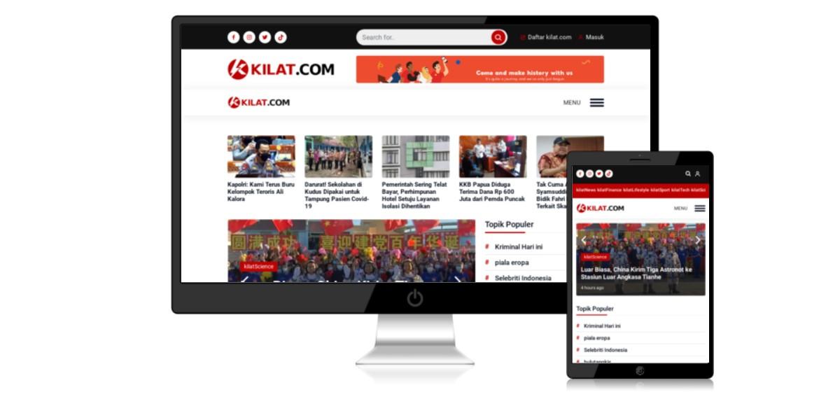 Situs Portal Berita Terlengkap di Indonesia - kilat.com