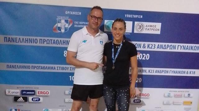 2η Πανελληνιονίκης στα 400μ η Ελπίδα Καρκαλάτου - Έχασε το χρυσό στο νήμα