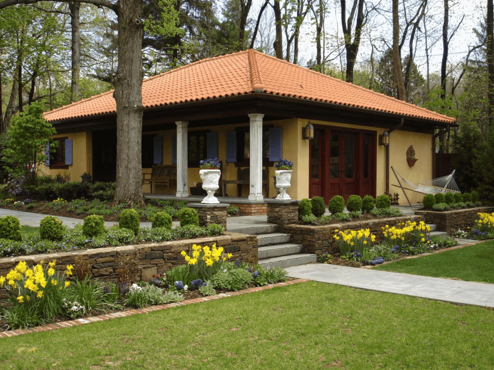 Decoraci n de casa u oficina modelos de casas de campo for Casas de campo economicas