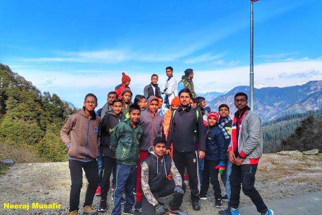 एक यात्रा स्कूली बच्चों के साथ