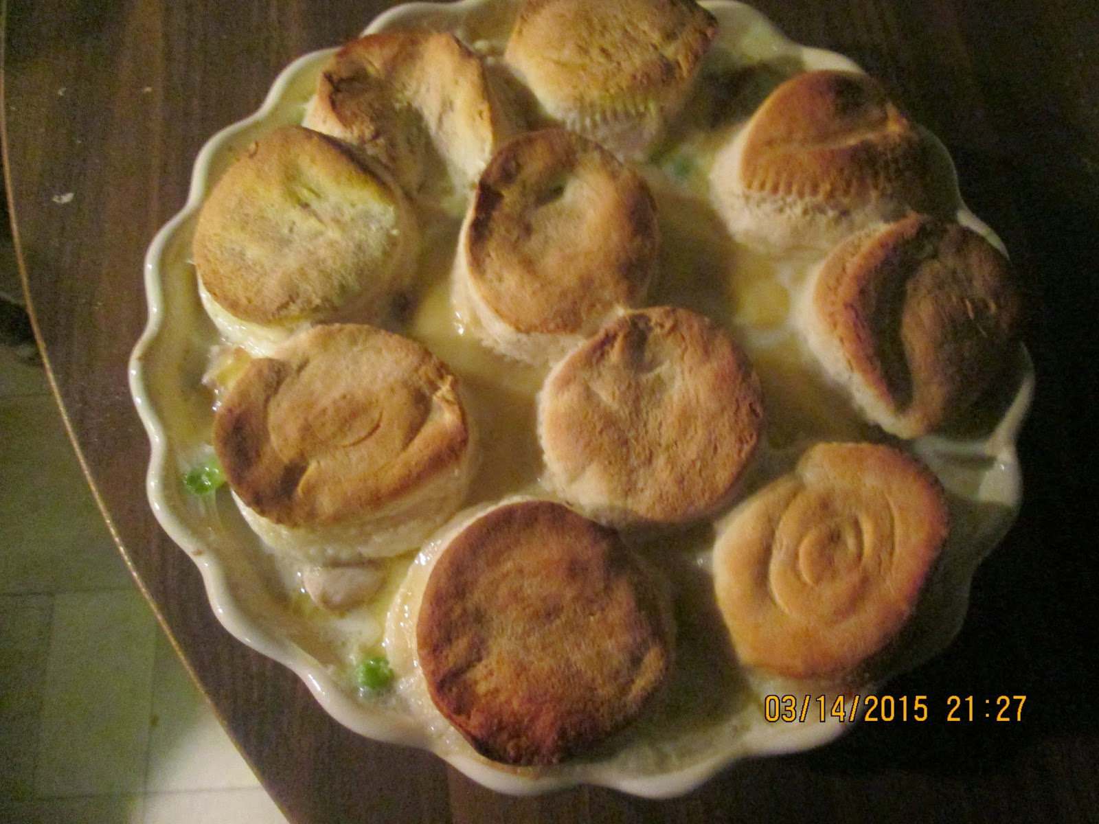 Using Chicken Pie Canned Biscuits Pot
