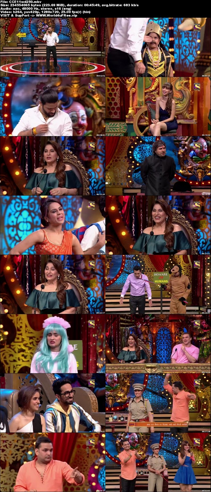Comedy Circus 2018 Episode 11 720p WEBRip 250mb x264 world4ufree.fun tv show Comedy Circus 2018 hindi tv show Comedy Circus 2018  Season 1 sony tv show compressed small size free download or watch online at world4ufree.fun