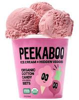 Peekaboo- Organics'- ice -cream- featuring -hidden vegetable- winner- California- Milk -Advisory- Board
