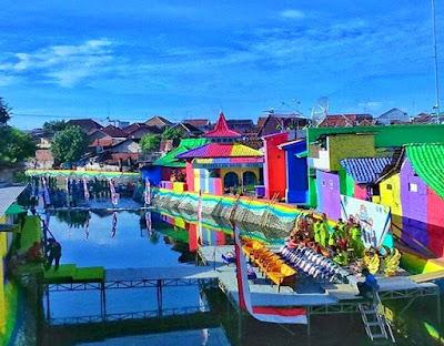 Warna Warni Sungai kalilo banyuwangi