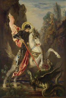 Gustave Moreau, Saint George and the Dragon c.1869