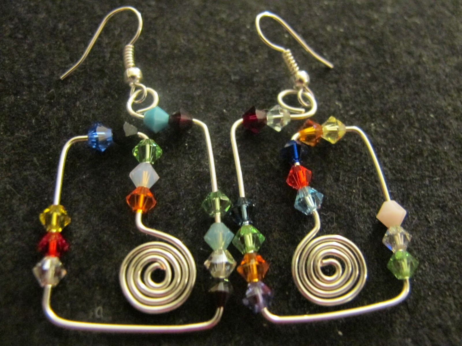Naomi S Designs Handmade Wire Jewelry Funky Silver Wire