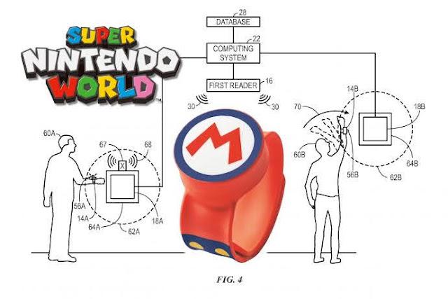 【生活分享】電玩迷不能錯過,日本環球影城的「超級任天堂世界」主題樂園 - 能量手環的功能應該是以感應、識別功能為主