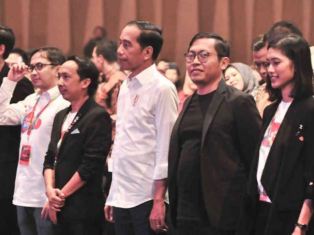 Jokowi Ajak Generasi Muda Jangan Gampang Mengeluh