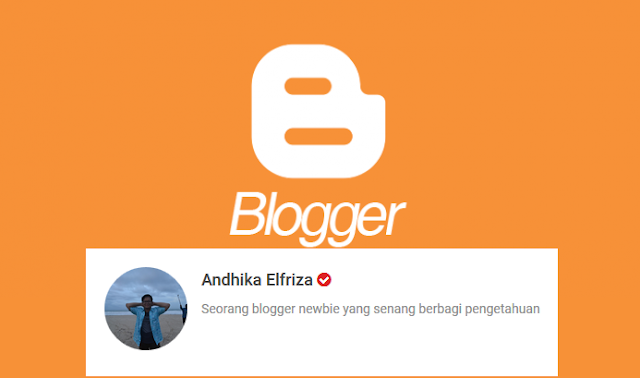 Cara Menampilkan Profil Author Di Postingan Blogger Blogspot