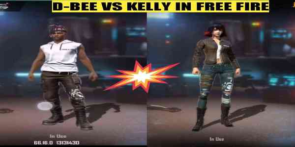 D-Bee vs Kelly: Which is the better character in Free Fire?