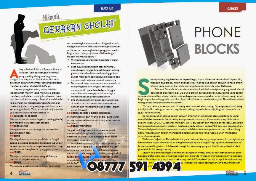 Desain Majalah, Desain koran, Desain buku, Desain tabloid murah di Jakarta